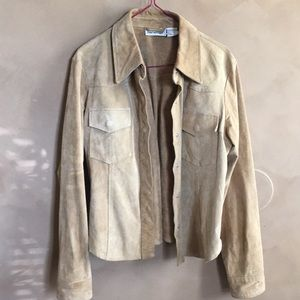 100% leather soft leather shirt